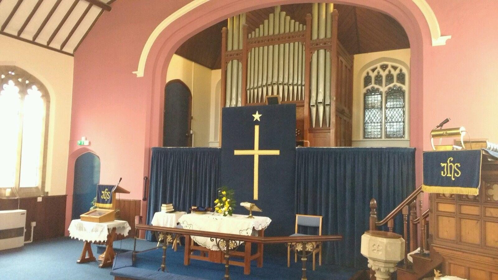 First World War Methodist memorial organ